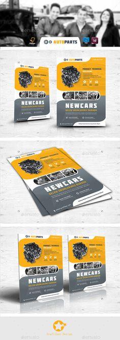 Automobile Service Flyer Templates