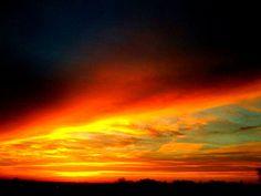 Texas Fire Sky by Republic of Texas, via Flickr