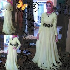 this is about going to party with hijab fashion of azzyyu models,,,, very nice....