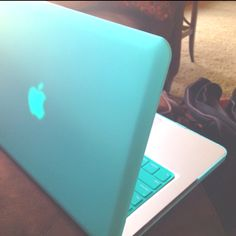Tiffany blue Mac cover. :)