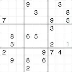 Sudoku #259 (Medium)