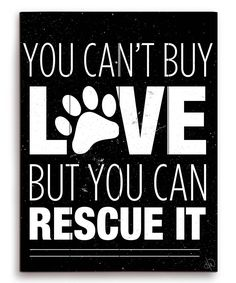 Image Canvas Black You Cant Buy Love Wall Art | zulily