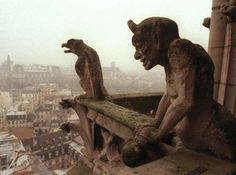 """Having a series of grotesque statues and faces on a building might not seem an obvious thing to do, but the frequency of them from the Hunky Punks and rather obscene Sheela na gigs of the UK to true Gargoyles, like the one above from Notre Dame Cathedral proves otherwise. To get technical, it's a form of """"apotropaic"""" magic; something intended to scare away evil. True gargoyles serve another, much more practical purpose as their mouths are spouts that channel rainwater off the roofs of…"""