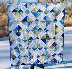 Quilting Land: Crystal Charm Summer Breeze Quilt