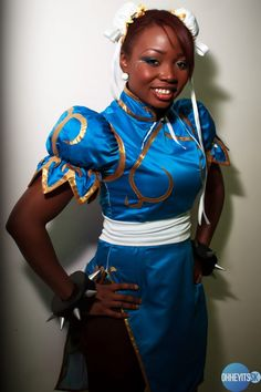 black people in cosplay   Need A Hero: A Robot, A Superhero, and An Anime Character Walk Into ...