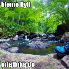 Kleine Kyll bei Manderscheid/Vulkaneifel. MTB und Wanderparadies Vulkaneifel. #eifel #vulkaneifel #eifelbike #mountainbiking #mtb