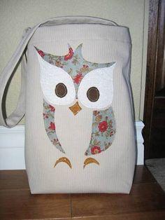 So cute! Owl bag @Jessica Wineinger