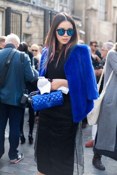 Paris Street Style: Spring 2015 Ready to Wear   Vanity Fair