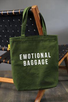 Emotional Baggage Heavy Duty Shopper