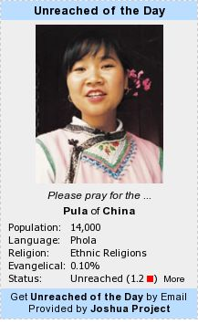unreached peoples project Find - find a people group, language or country with the search tool people group lists - view people group, country, language, progress, global and other listings create a list - create a people group list using your own criteria global statistics - explore global missions statistics maps - navigate people groups using various maps hotspots - understand people groups and global hotspots.