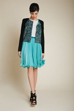 Azzi & Osta Resort 2013 - Ready-to-Wear | Love that jacket for a MotB and that skirt for a bridesmaid!
