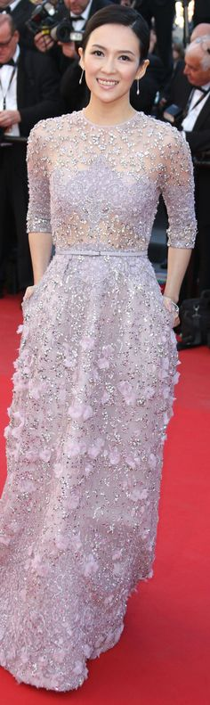 Zhang Ziyi in Elie Saab dress