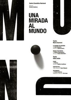 Typographic poster design by Isidro Ferrer Typo Poster, Typographic Poster, Poster Layout, Typographic Hierarchy, Cool Typography, Typography Layout, Lettering, Graphic Design Posters, Graphic Design Typography
