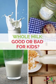 Whole Milk: The Lowdown on Full Fat Milk Whole Milk, Low Fat or Fat Free? What the emerging science is saying for kids: The Full Fat Report for Kids. There's a big picture to consider! Milk Nutrition Facts, Kids Nutrition, Sports Nutrition, Healthy Milk, Healthy Drinks, Healthy Eats, Teen Drinks, Coffee Bad For You, Full Fat Milk