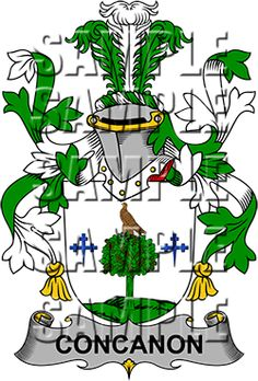 Concanon Family Crest apparel, Concanon Coat of Arms gifts