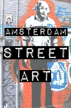 Amsterdam street art :: While there are certain areas in Amsterdam that might have more street art than others, I recommend just wandering around and keeping your eyes peeled for interesting examples. Most of my favorite works are found in random places around the city. #amsterdam #streetart