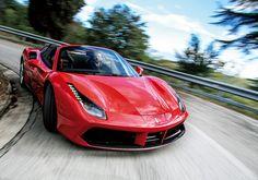 跳ね馬はオープンに限る!──フェラーリ488スパイダー試乗記|新車試乗記 - 自動車(高級車・スポーツカー)|GQ JAPAN