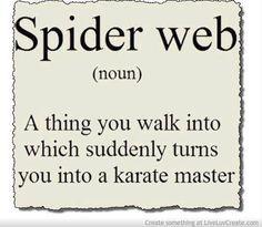 I am a black belt..