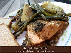 delightful country cookin': herbed chicken pot