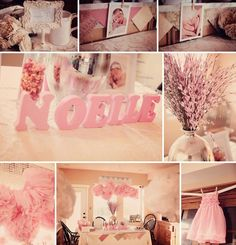 Eternal Reflections Photography, Glam  Pink Baby Shower (having trouble finding the actual photos to this but good ideas in this pic)
