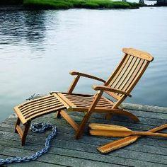 Teak Chaise Lounge Chairs prado outdoor striped bean bag chaise lounge chair | products