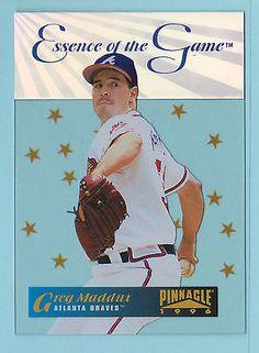 1996 Pinnacle Essence of the Game Greg Maddux Atlanta Braves #2