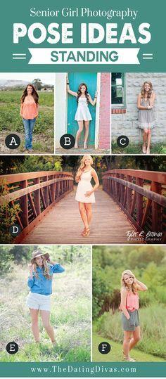 Nada mais comum que 'dar um branco' na hora de pensar nas poses, tanto pra quem fotografa, quanto pra quem é fotografada. Aqui vão algumas ideias para poses femininas (em pé).