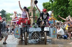 Baltimore Kinetic Sculpture Race: Yes! Oui! Cancan