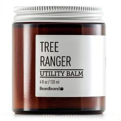 Utility Balm - Tree Ranger by BEARDBRAND - Made from all-natural ingredients and naturally derived fragrance, Beardbrand's utility balm keeps your beard, hair, and skin in tip-top shape. Functions as a smooth, soothing, no-hold deep conditioner. It's perfect for keeping your hair and beard velvety soft and hydrated, and keeping your skin moisturized and healthy.