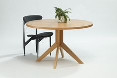 Grazia and Co - Australian Made and Custom Furniture - finnegan round dining table