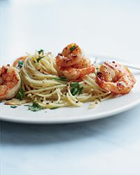Angry Shrimp Spaghettini