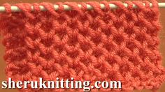 Knitting Honeycomb Stitch