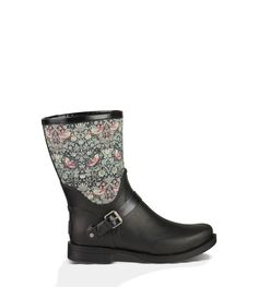 Part of our partnership with Liberty Art Fabrics, this rain boot features one of the London-based company's heritage prints on their unique Tana Lawn cotton. This design, which first debuted in 1883, adds a fanciful touch to the shaft of this waterproof style.