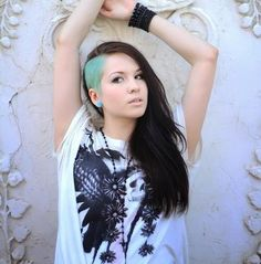 everyday super undercut | First Fashion News on we heart it / visual bookmark #29730386
