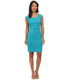 Calvin Klein Calvin Klein  Square Neck Sheath Dress Womens Dress for 94.99 at Im in! #sale #fashion #I'mIn