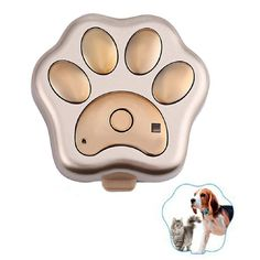 Egmy New GPS Pet Tracker Smart WiFi Mini Tracker ,Pet Tag Tracker ,Waterproof Collar Locator,Safety Alarm Best for Large Medium Small Pets (Gold) >>> Click image for more details. (This is an affiliate link and I receive a commission for the sales)