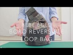 Boro Inspired Reversible Loop Bag - YouTube