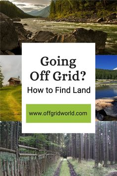 One of the first things you'll do if you want to move off grid is look for land. Finding land is the easy part. It's everywhere. There are tens of thousands of properties out there to sift through with endless varieties in price, features, and problems. Here are several very important components to consider when searching for land for off grid living. #offgrid #offgridliving #livingoffgrid #offgridland #land #homesteading Survival Mode, Urban Survival, Survival Prepping, Survival Skills, Off Grid Homestead, Tiny House Community, Off The Grid, Sustainable Living, Tiny Homes