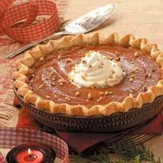 Caramel-Crunch Pumpkin Pie Recipe | Holiday Cottage