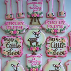 Our Little Deer is Turning One