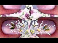 Passo a passo Flor carga Única e Apresentação dos Pincéis