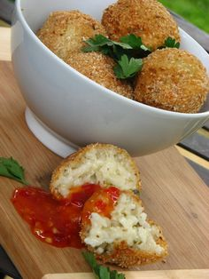Risotto balls...definitely worth the effort!