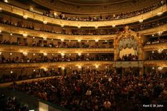 Marinsky Theater in St. Petersburg - It is my DREAM to see a ballet here before I die!