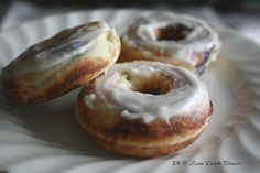 24/7 Low Carb Diner: Blueberry Poundcake Mini Doughnuts