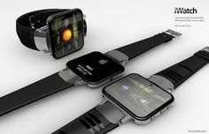 A mockup of what an Apple iWatch could be like. I REALLY want this. Hope it comes true.