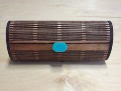 Wood Sunglass Case