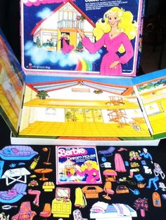 Barbie House Colorforms