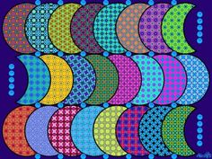 Pattern Moons (130 pieces)