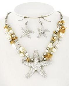 Starfish, Pearl Bead & Pi... - Baublefied | Scott's Marketplace