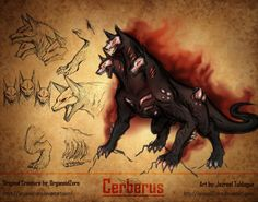 RWBY Bestiart (Apocryphal Records): Cerberus by Demize00Zero on @DeviantArt